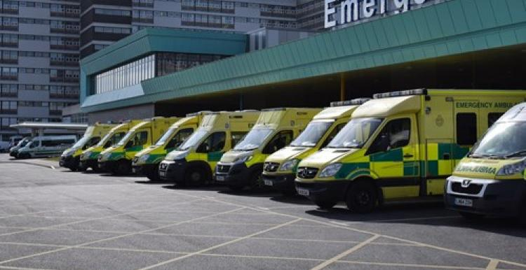 image of exterior or Aintree Hospital A&E department