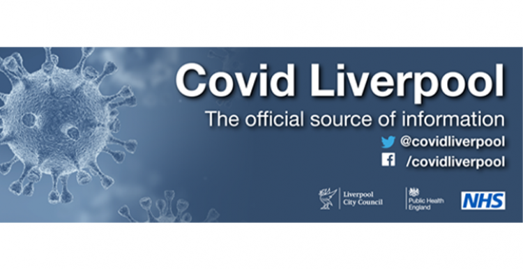 Liverpool City Council - Covid19 info banner