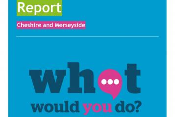 Image of front cover of Healthwatch Cheshire and Merseyside Long Term Plan Public Views Report