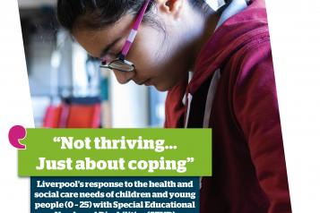image of front cover of Healthwatch Liverpool SEND report