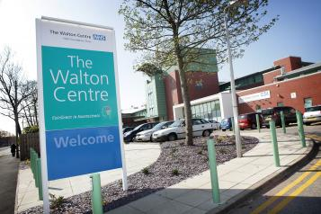 Photo of the Walton Centre exterior