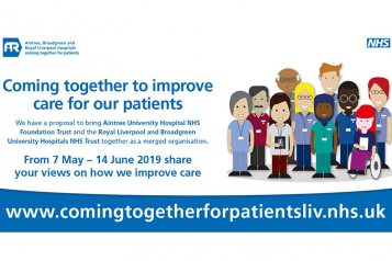 Coming together to improve care for our patients image