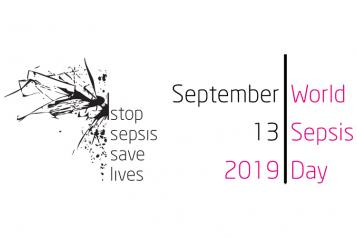 World Sepsis Day 2019 logo - Stop Sepsis, save lives