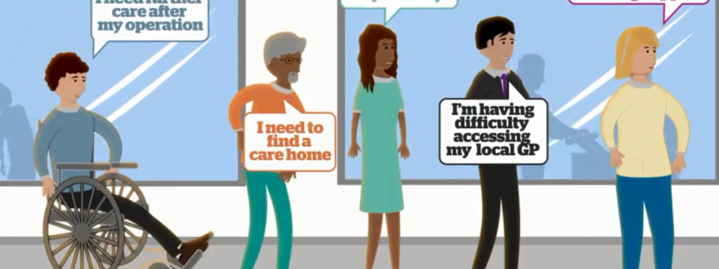Screenshot from Healthwatch video