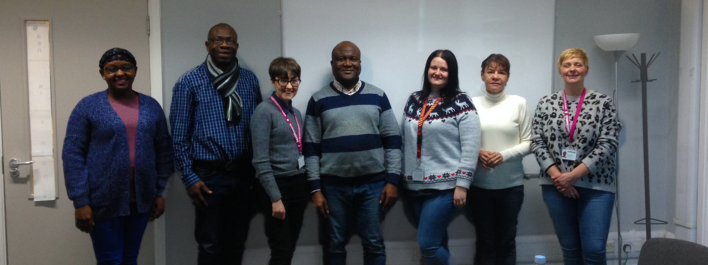 Image of a group of Healthwatch Liverpool volunteers