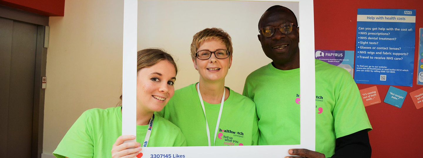 Group of Healthwatch volunteers