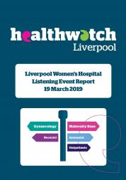 Image of Front Cover of Liverpool Women's Hospital 2019 report